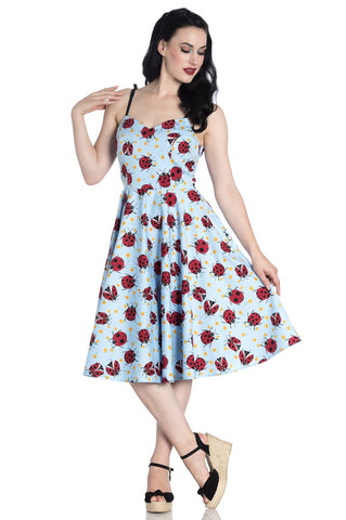 Hell Bunny - Lila 50's Dress