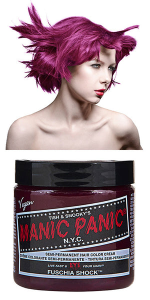 Manic Panic Semi-Permanent Vegan Hair Dye - Fuschia Shock