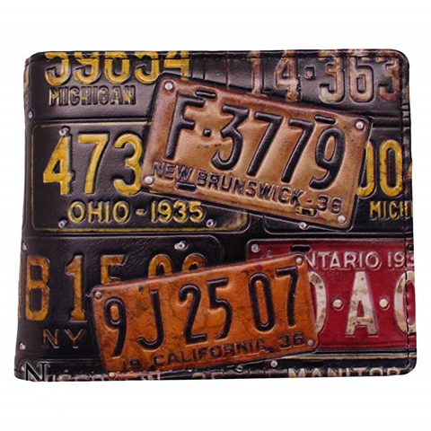 Nemesis Now - Licence Plate Wallet