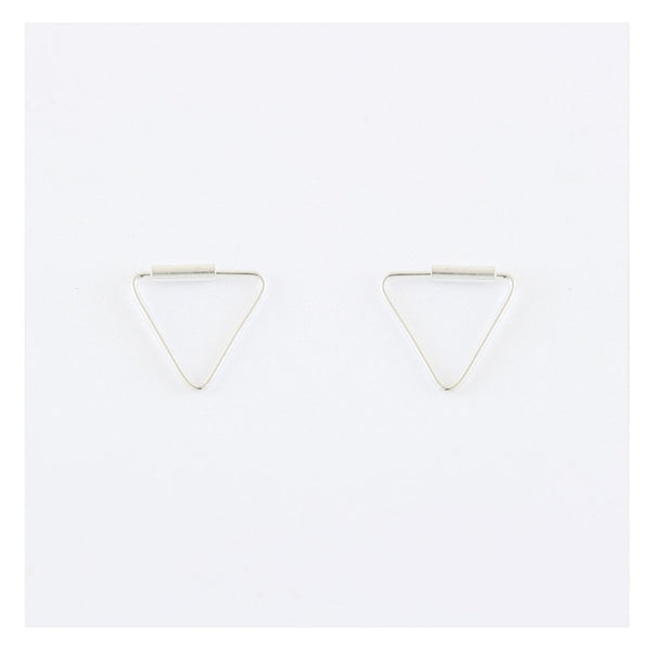 Kingsley Ryan - 8mm Triangle Hoops