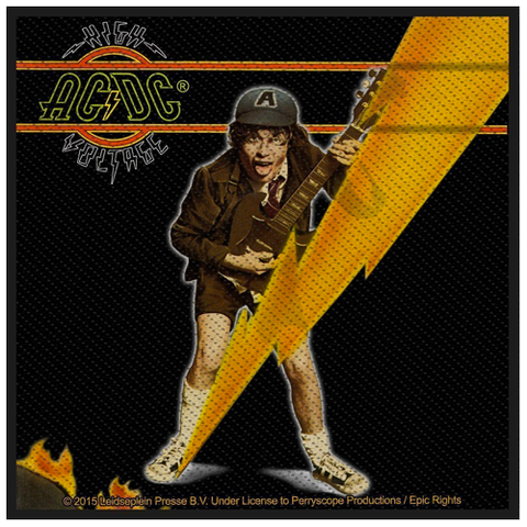 Woven Patch - AC/DC 'High Voltage'