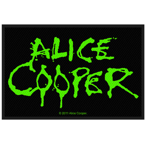 Woven Patch - Alice Cooper 'Logo'
