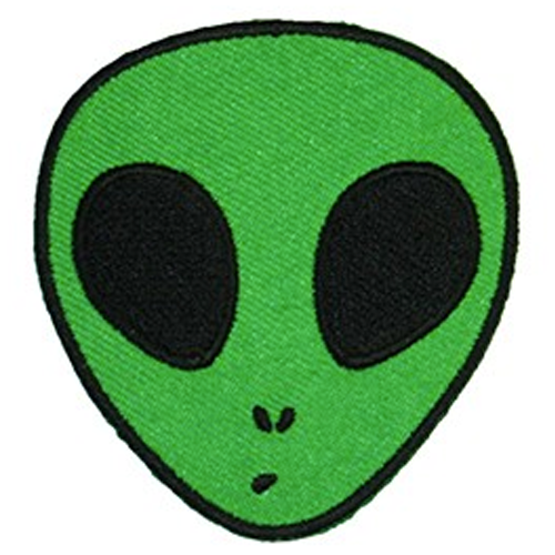 Iron On Patch - Alien
