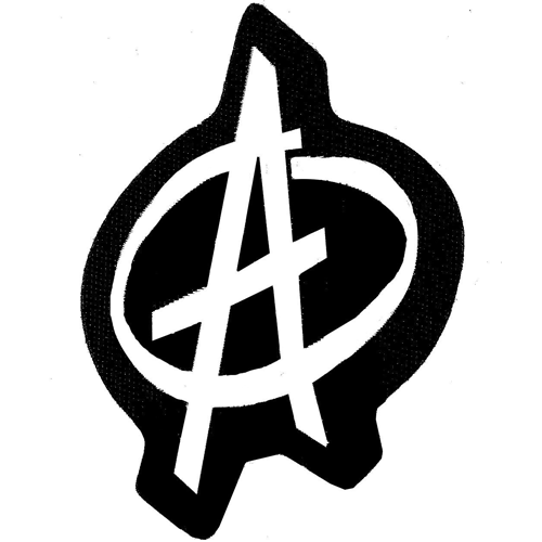 Woven Patch - Anarchy Symbol