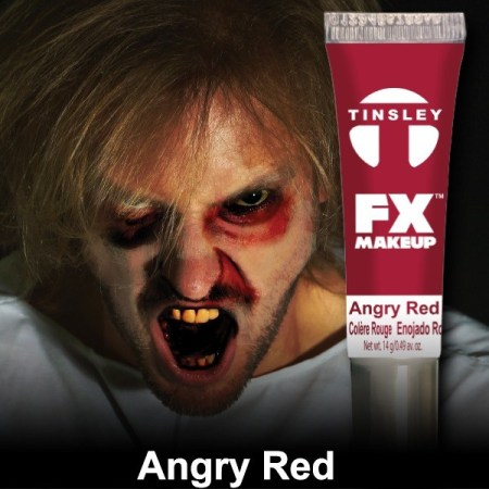Tinsley Transfers - FX Makeup Angry Red Face Paint