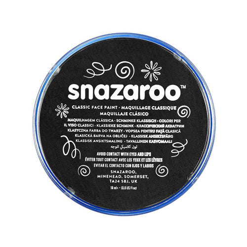 Snazaroo - Face Paint Black 18ml