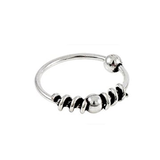 Kingsley Ryan - Silver Bali Style Nose Ring