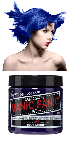 Manic Panic Semi-Permanent Vegan Hair Dye - Blue Moon