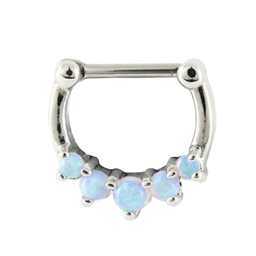 Kingsley Ryan - Blue Skies Opal Septum Clicker