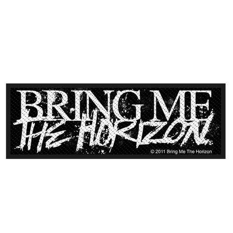 Woven Patch - Bring Me The Horizon 'Horror Logo'