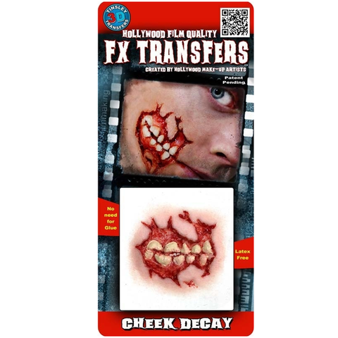 Tinsley Transfers - 3D FX Transfers Cheek Decay