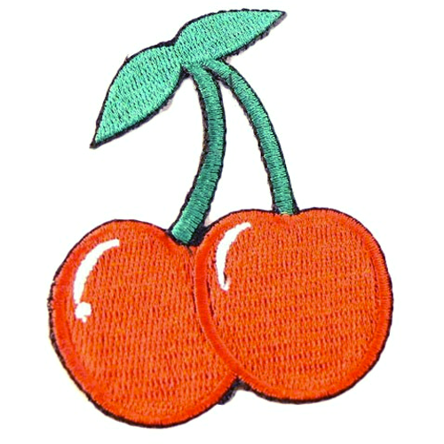 Iron On Patch - Cherry
