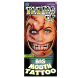 Tinsley Transfers - Chompers Big Mouth Tattoo