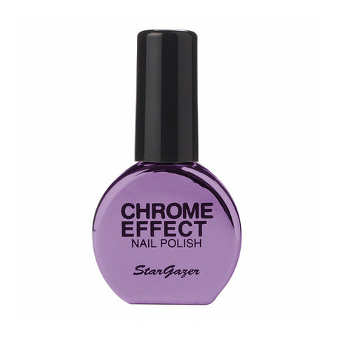 Stargazer - Chrome Nail Polish Purple