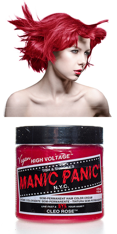 Manic Panic Semi-Permanent Vegan Hair Dye - Cleo Rose