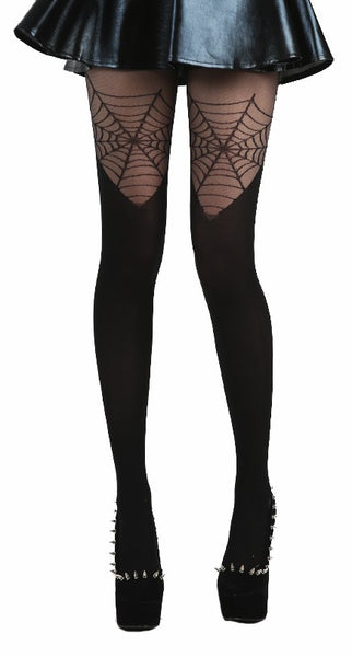 Pamela Mann - Cobweb OTK Tights