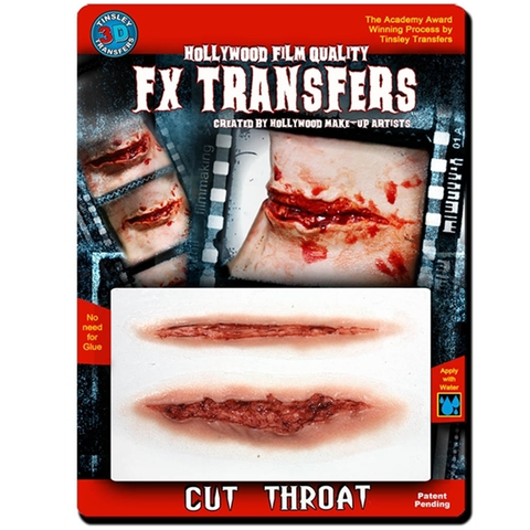 Tinsley Transfers - 3D FX Transfers Cut Throat