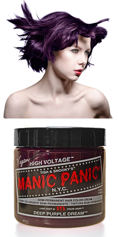 Manic Panic Semi-Permanent Vegan Hair Dye - Deep Purple Dream