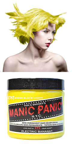 Manic Panic Semi-Permanent Vegan Hair Dye - Electric Banana