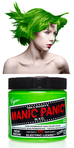 Manic Panic Semi-Permanent Vegan Hair Dye - Electric Lizard
