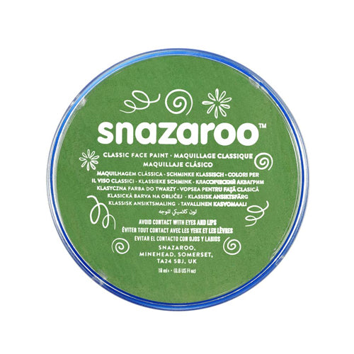 Snazaroo - Face Paint Grass Green 18ml
