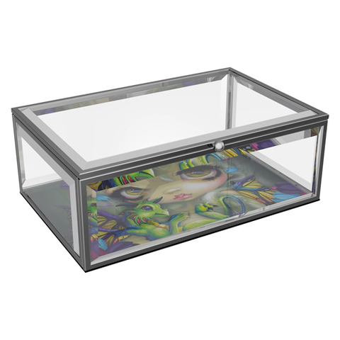 Nemesis Now - Glass Jewellery Box Darling Dragonling