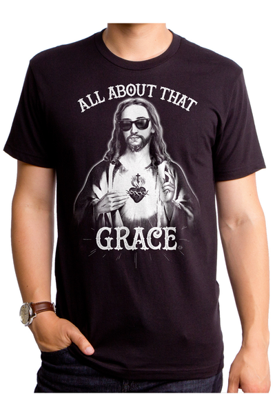 Goodie Two Sleeves - All About that Grace T-Shirt