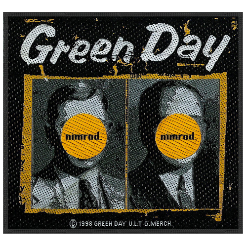 Woven Patch - Green Day 'Nimrod'