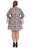 Hell Bunny - Griselda Mini Dress Plus Size