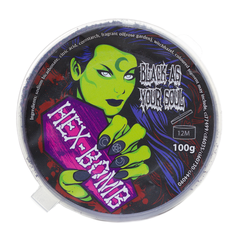Hex Bomb - Black As Your Soul Bath Bomb