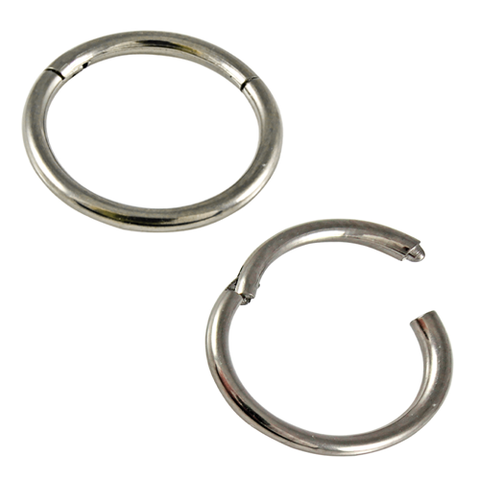 Kingsley Ryan - 316L Surgical Steel Hinged Segment Ring