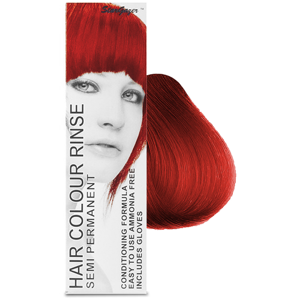 Stargazer Cruelty Free Hair Dye - Hot Red