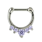 Kingsley Ryan - Jewelled Septum Clicker