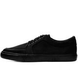 T.U.K Black Canvas Basic Creeper