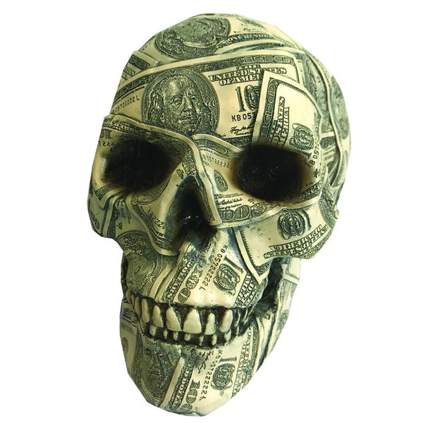 Nemesis Now - Made Of Money Skull