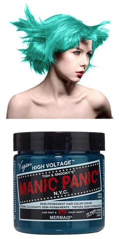 Manic Panic Semi-Permanent Vegan Hair Dye - Mermaid