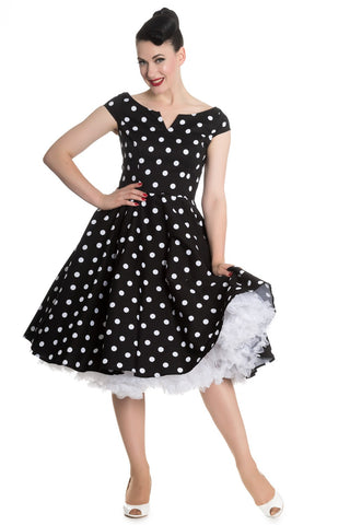 Hell Bunny - Nicky Black 50's Dress