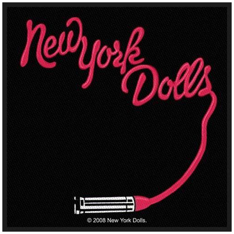 Woven Patch - New York Dolls 'Lipstick'