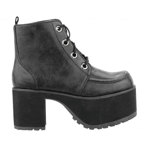 T.U.K - Distressed 4 Eye Nosebleed Boots