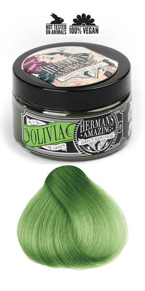 Herman's Amazing Professional Hair Colour - Olivia Green