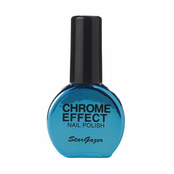 Stargazer - Chrome Nail Polish Blue