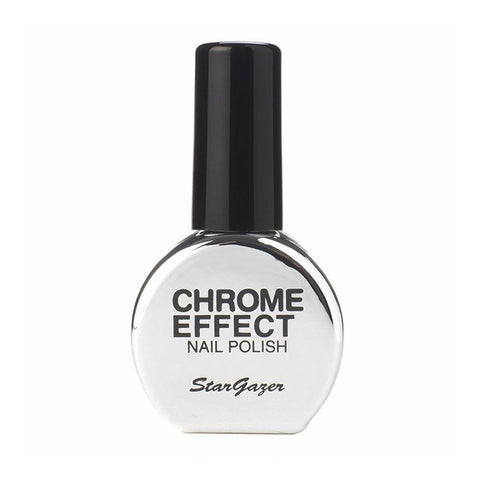 Stargazer - Chrome Nail Polish Silver