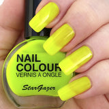 Stargazer - UV Nail Polish Neon Yellow