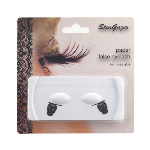 Stargazer - Paper Eye Lashes Skull