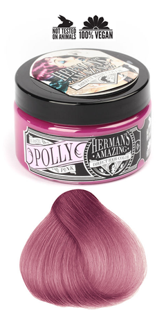 Herman's Amazing Professional Hair Colour -  Pastel Polly Pink
