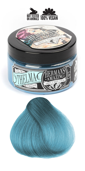 Herman's Amazing Professional Hair Colour -  Pastel Thelma Turquoise