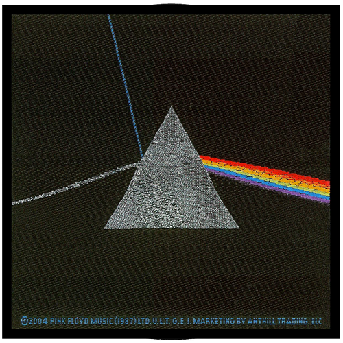 Woven Patch - Pink Floyd 'Dark Side Of The Moon'