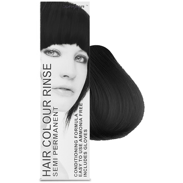 Stargazer Cruelty Free Hair Dye - Pitch Black