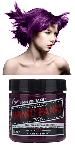 Manic Panic Semi-Permanent Vegan Hair Dye - Plum Passion