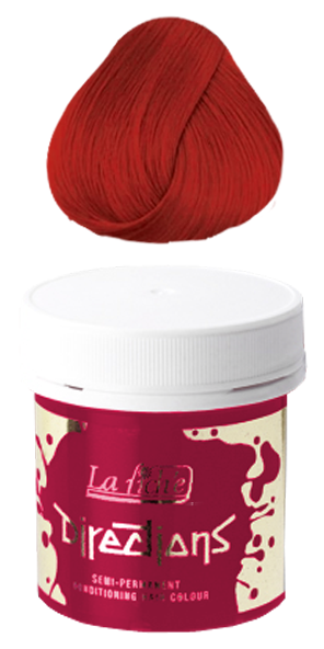 La Riche Directions Semi Permanent Hair Colour - Poppy Red